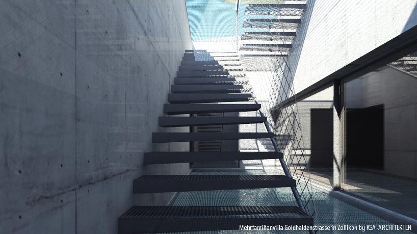 Image flow architektur innenarchitektur 3d for Cinema 4d architektur